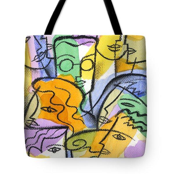 Friendship Tote Bag by Leon Zernitsky