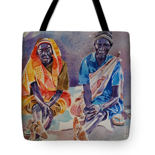 Friendship  Tote Bag by Mohamed Fadul