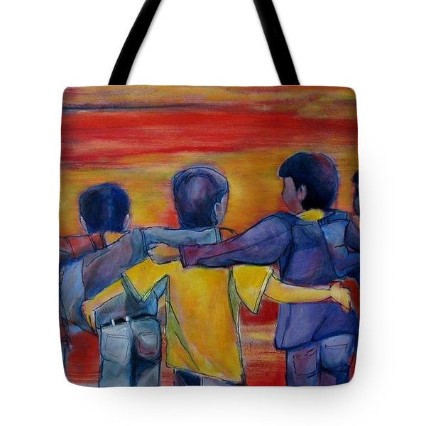 Friendship Walk - Children Tote Bag