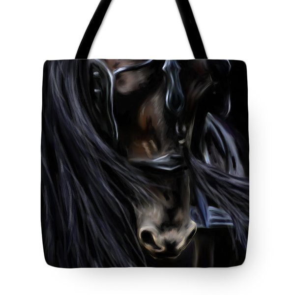 Friesian Spirit Tote Bag by Michelle Wrighton
