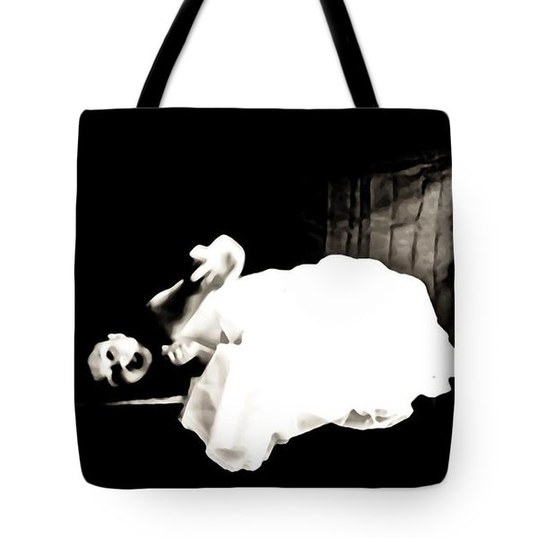 Frightened By The Light Tote Bag by Jessica Shelton