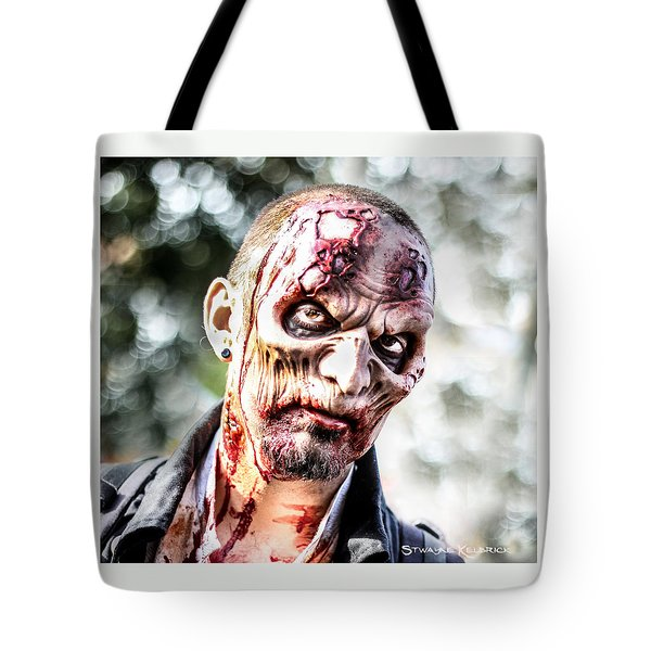 Frightfulness Bones Tote Bag