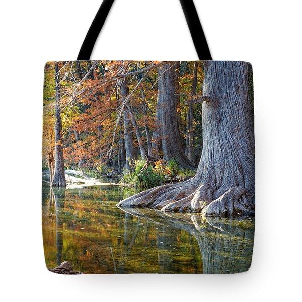 Frio River Morning Tote Bag