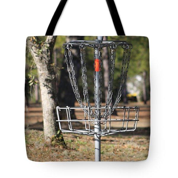 Frisbee Golf Tote Bag