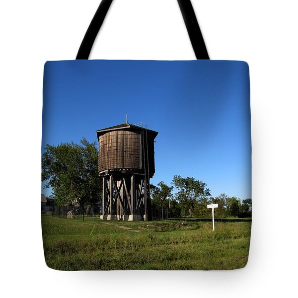 Frisco Water Tower  Tote Bag