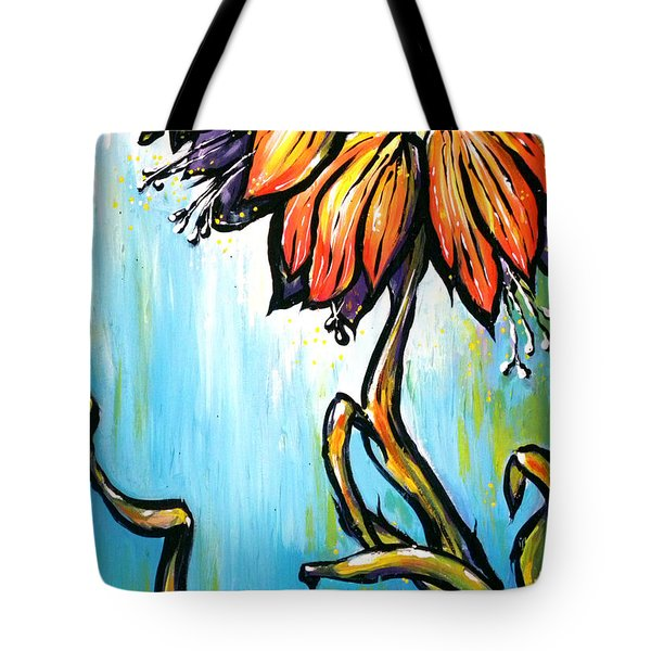 Fritillaria Imperialis Tote Bag