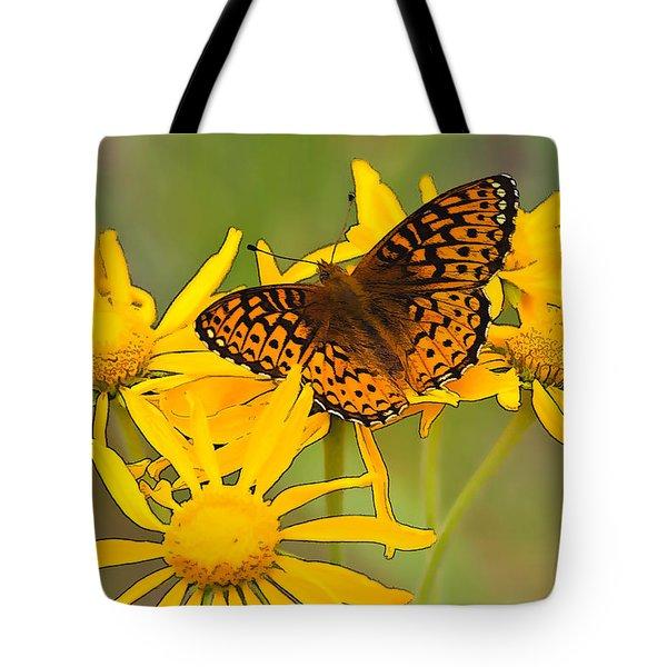 Fritillary Tote Bag