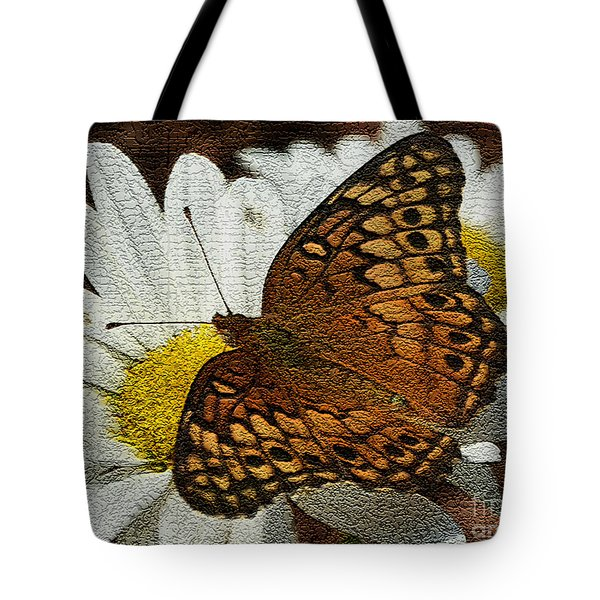 Fritillary Variegated  Tote Bag