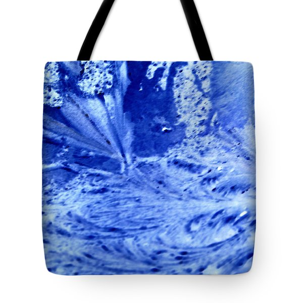 Tote Bag featuring the digital art Frocean by Richard Thomas