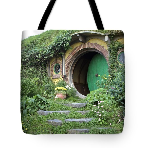 Frodo Baggins Lives Here Tote Bag