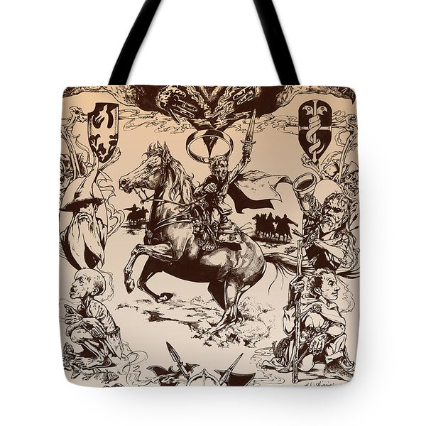 frodo- Tolkien appreciation Tote Bag