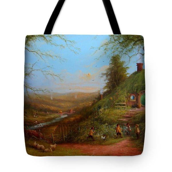 Frodo's Inheritance Bag End Tote Bag by Joe  Gilronan