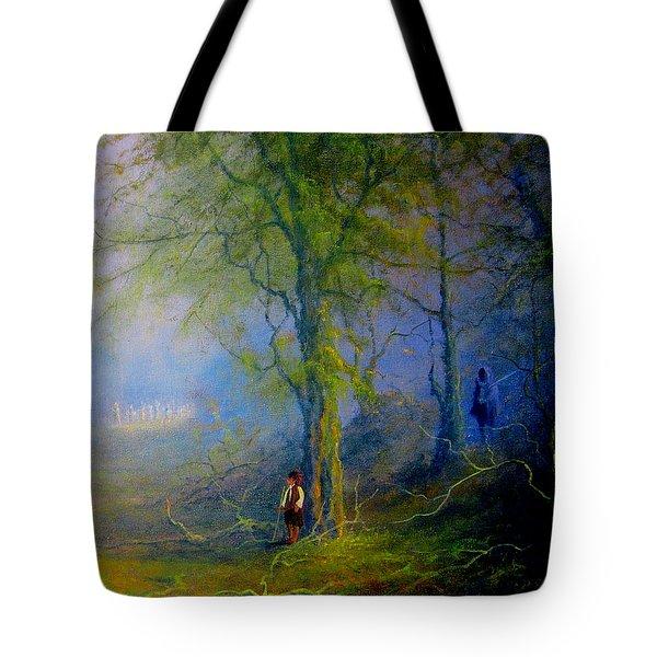 Frodo's Lucky Escape Tote Bag by Joe  Gilronan