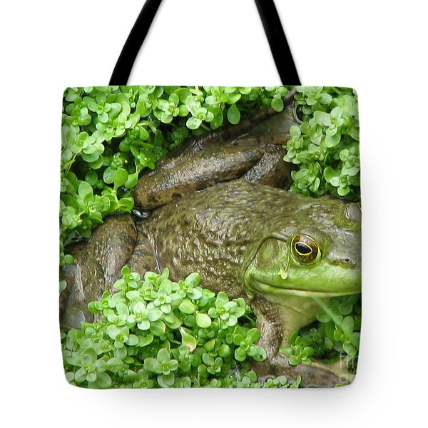 Frog Tote Bag by DejaVu Designs