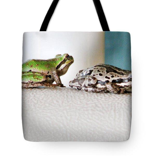 Frog Flatulence - A Case Study Tote Bag