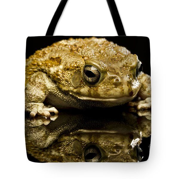 Tote Bag featuring the photograph Frog by Gunnar Orn Arnason
