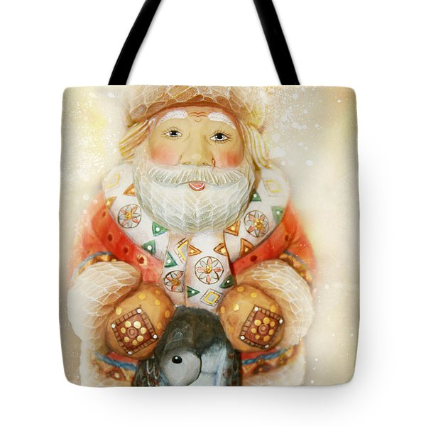 frohe Weihnachten Tote Bag by Sharon Mau
