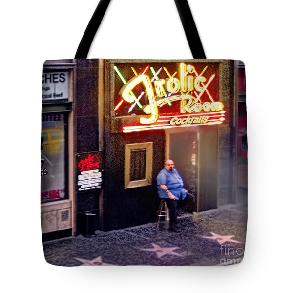 Frolic Room.hollywood Blvd Tote Bag