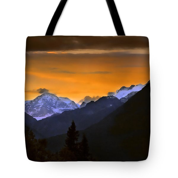 Tote Bag featuring the photograph From A Distance by Dyle   Warren