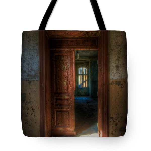From A Door To A Window Tote Bag by Nathan Wright