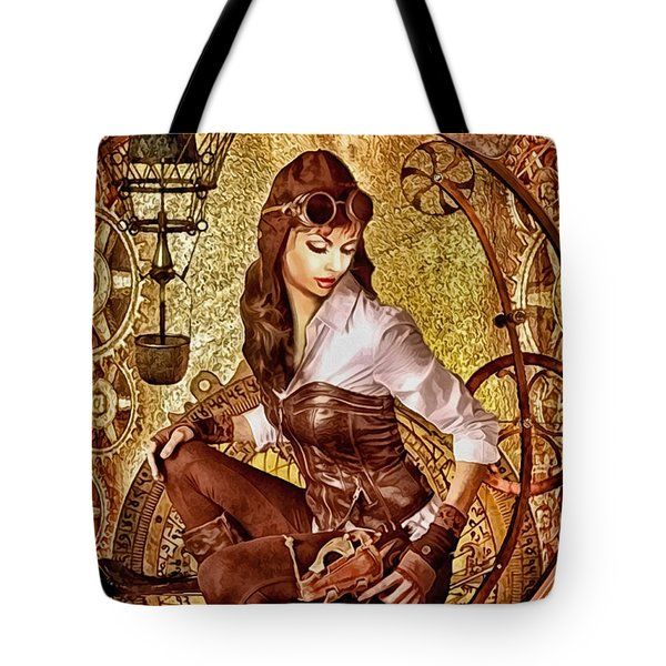 From Above Tote Bag by Mo T