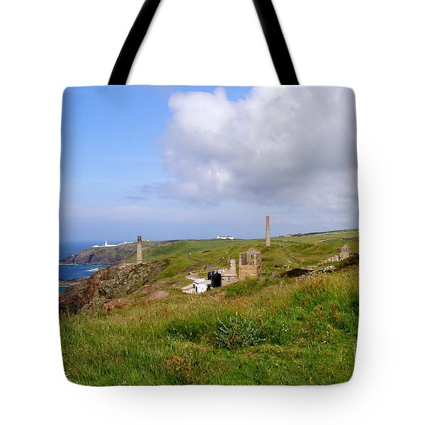 From Levant To Pendeen Cornwall Tote Bag by Terri Waters