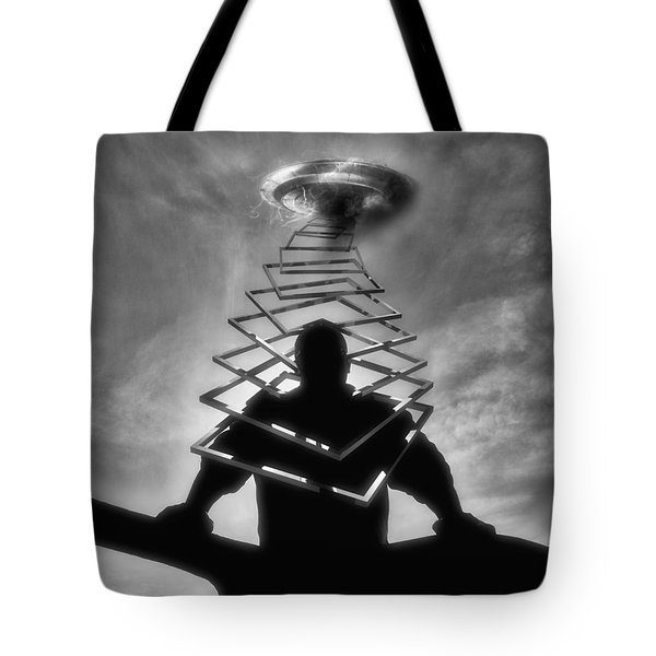From Outer Space Tote Bag by ISAW Gallery