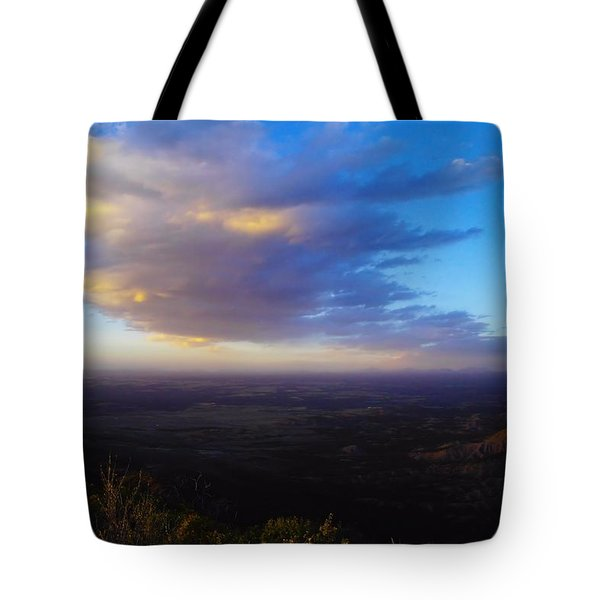 From Park Point Colorado  Tote Bag