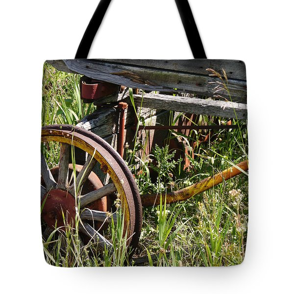 From Rust To Grass Tote Bag