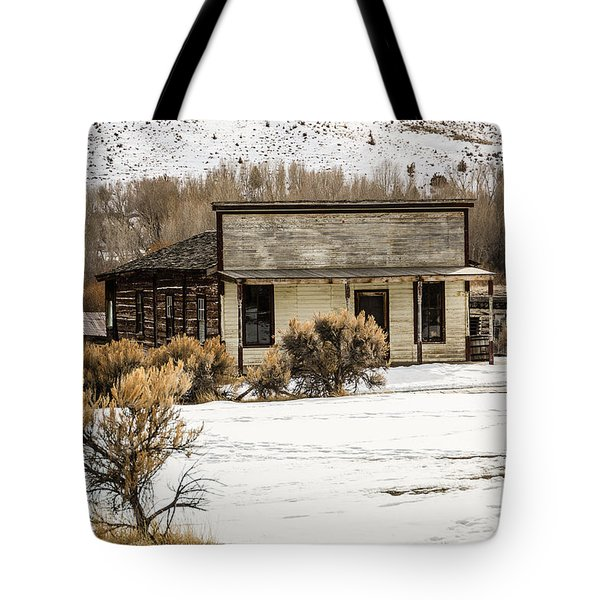 From Saloon To Store Front And Home Tote Bag