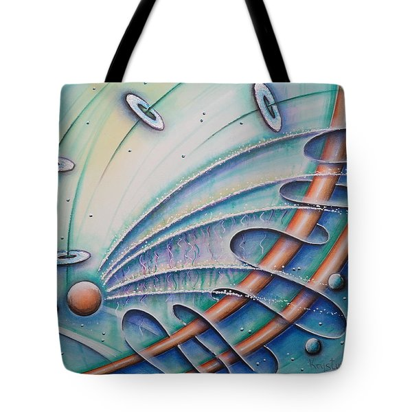 From Sphere To Eternity Tote Bag