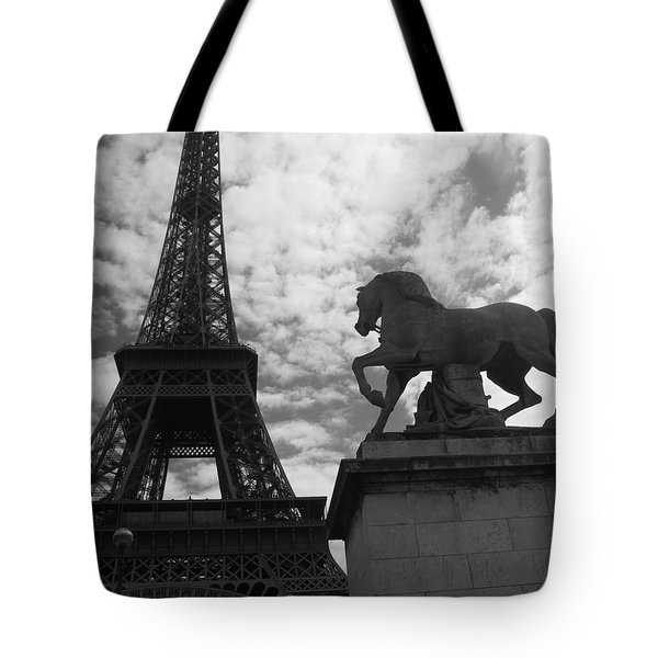 Tote Bag featuring the photograph From The Bridge by Lisa Parrish