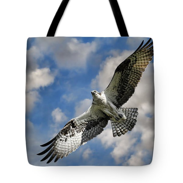 From The Clouds Tote Bag by Steve McKinzie