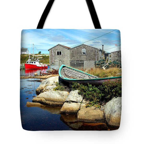 From The Cove Tote Bag