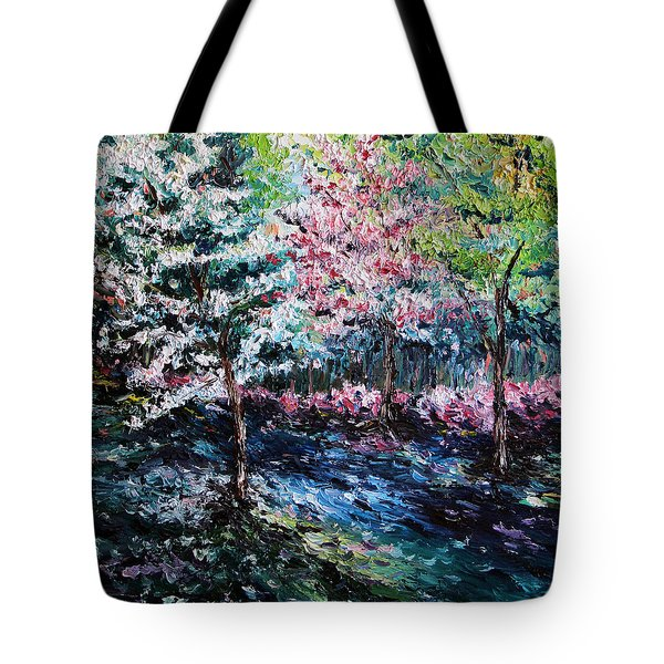 Tote Bag featuring the painting From The Earth by Meaghan Troup