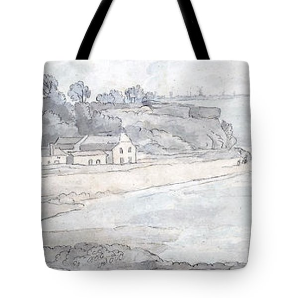 From The Heathfields Seat Tote Bag by Francis Towne