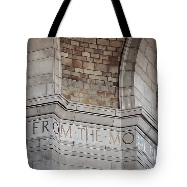 From The Moral... Tote Bag by Art Whitton