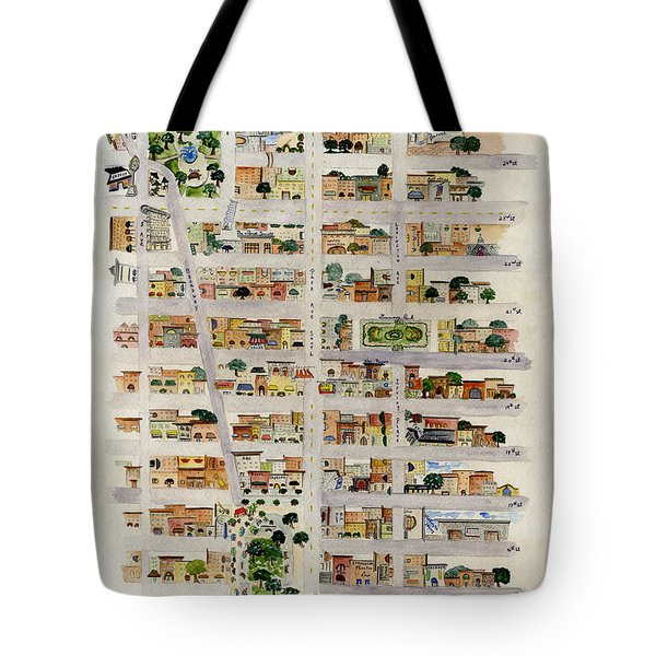 From Union Square To Madison Square Tote Bag
