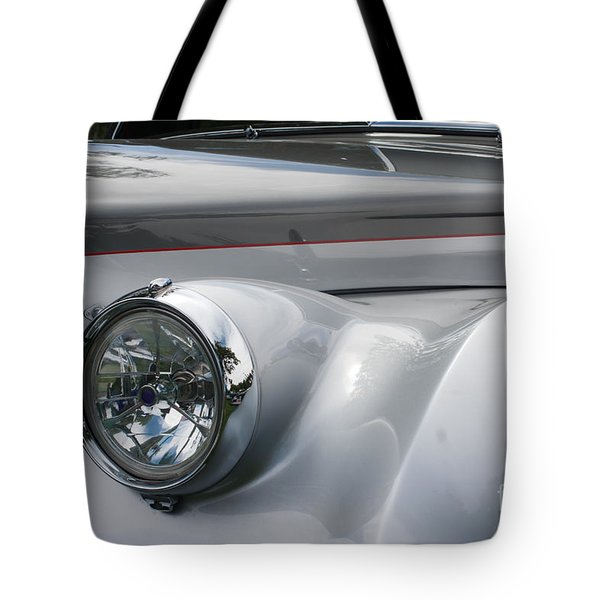 Tote Bag featuring the photograph Front Of A Rolls Royce by Gunter Nezhoda