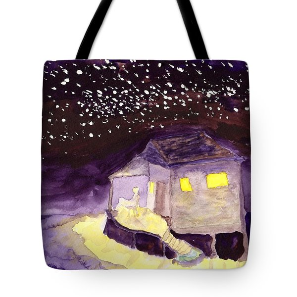 Front Porch Stars Tote Bag