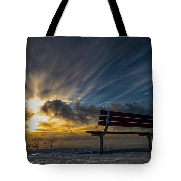 Front Row Tote Bag