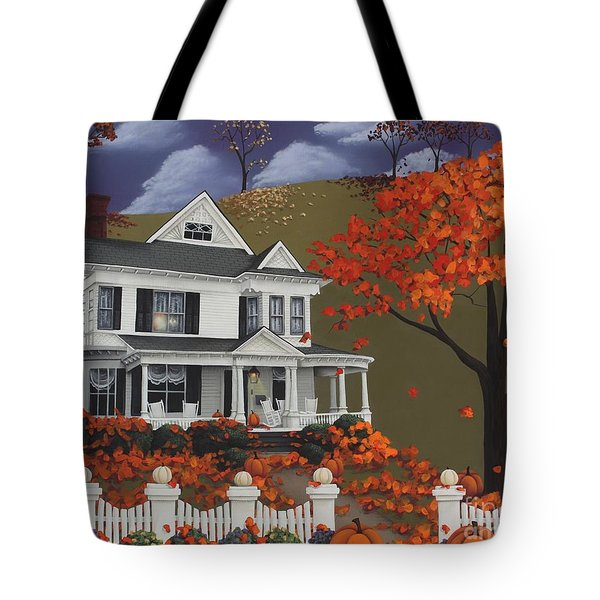 Front Row Seats At Wingate Place Tote Bag by Catherine Holman