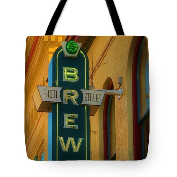 Front Street Brewery Tote Bag by Bob Sample