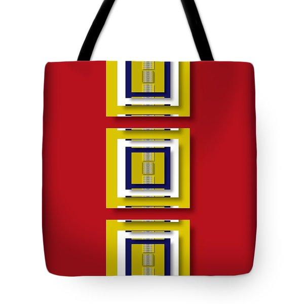 Tote Bag featuring the digital art Frontdoor by Darla Wood