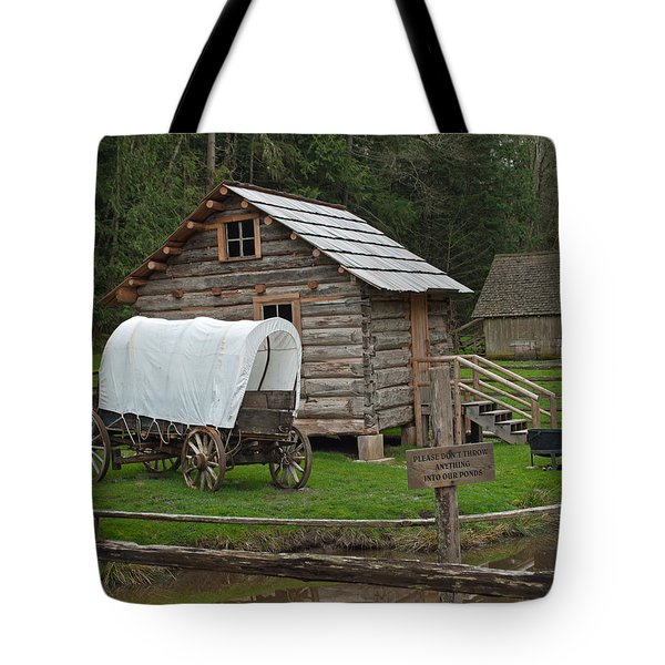 Frontier Life Tote Bag by Tikvah's Hope