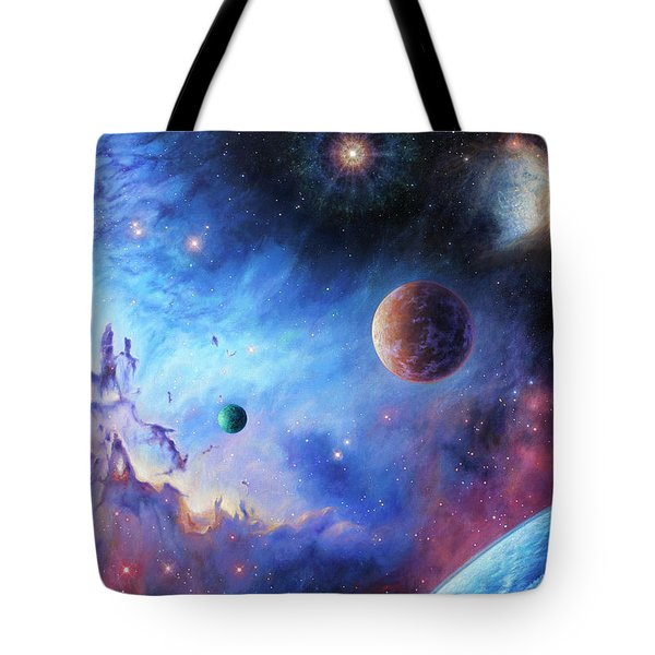 Frontiers Of The Cosmos Tote Bag