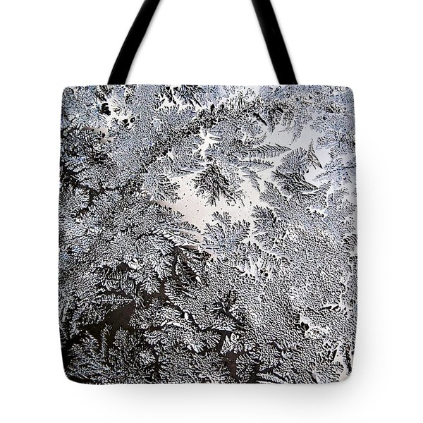 Frosted Glass Abstract Tote Bag by Christina Rollo