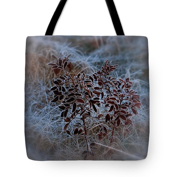 Frosted Rugosa Tote Bag by Susan Capuano