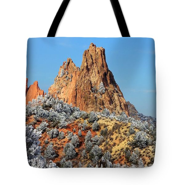 Frosted Wonderland 4 Tote Bag