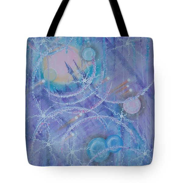 Frosticles Tote Bag by Krystyna Spink
